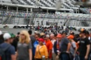 Fans on the grid at Daytona