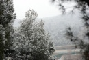 Snow falling at Parcmotor Castelloli
