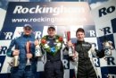 Race 1 Race Class Podium (l-r) Ronan Pearson (GBR) Westbourne Motorsport with Hillnic Homes Renault Clio Cup, Ben Palmer (GBR) Ben Palmer Racing Renault Clio Cup, Ben Colburn (GBR) Westbourne Motorsport Renault Clio Cup