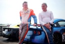 Guy Redwood Ginetta G40 and Gary Wager
