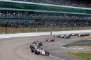 Start of Race 2, Jonathan Hoggard (GBR) Fortec British F4 leads