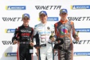 Lorcan Hanafin Ginetta Junior Louis Foster (GBR) Elite Motorsport Ginetta Junior Patrick Kibble TCR Ginetta Junior