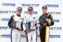 Podium James Taylor Ginetta Junior Louis Foster (GBR) Elite Motorsport Ginetta Junior Adam Smalley Elite Motorsport Ginetta Junior